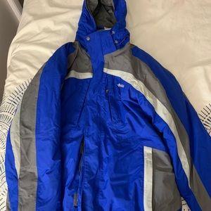 Men's HEAVY Columbia snow coat